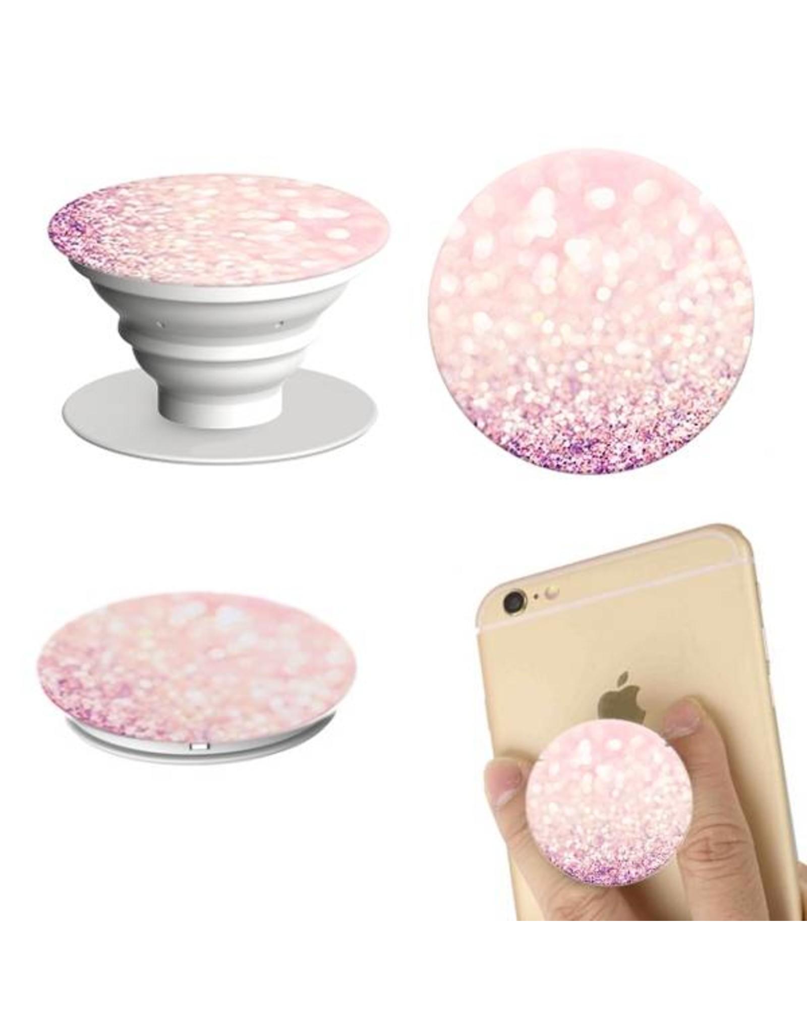 Telefoonbutton 'Pink Sand' - Body & Soap