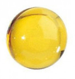 Badparels transparant geel