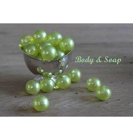 Badparel (groen/mintgroen) metallic