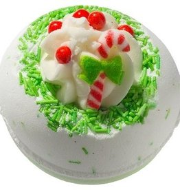 Bomb Cosmetics Candy Cane Lane Bath Blaster