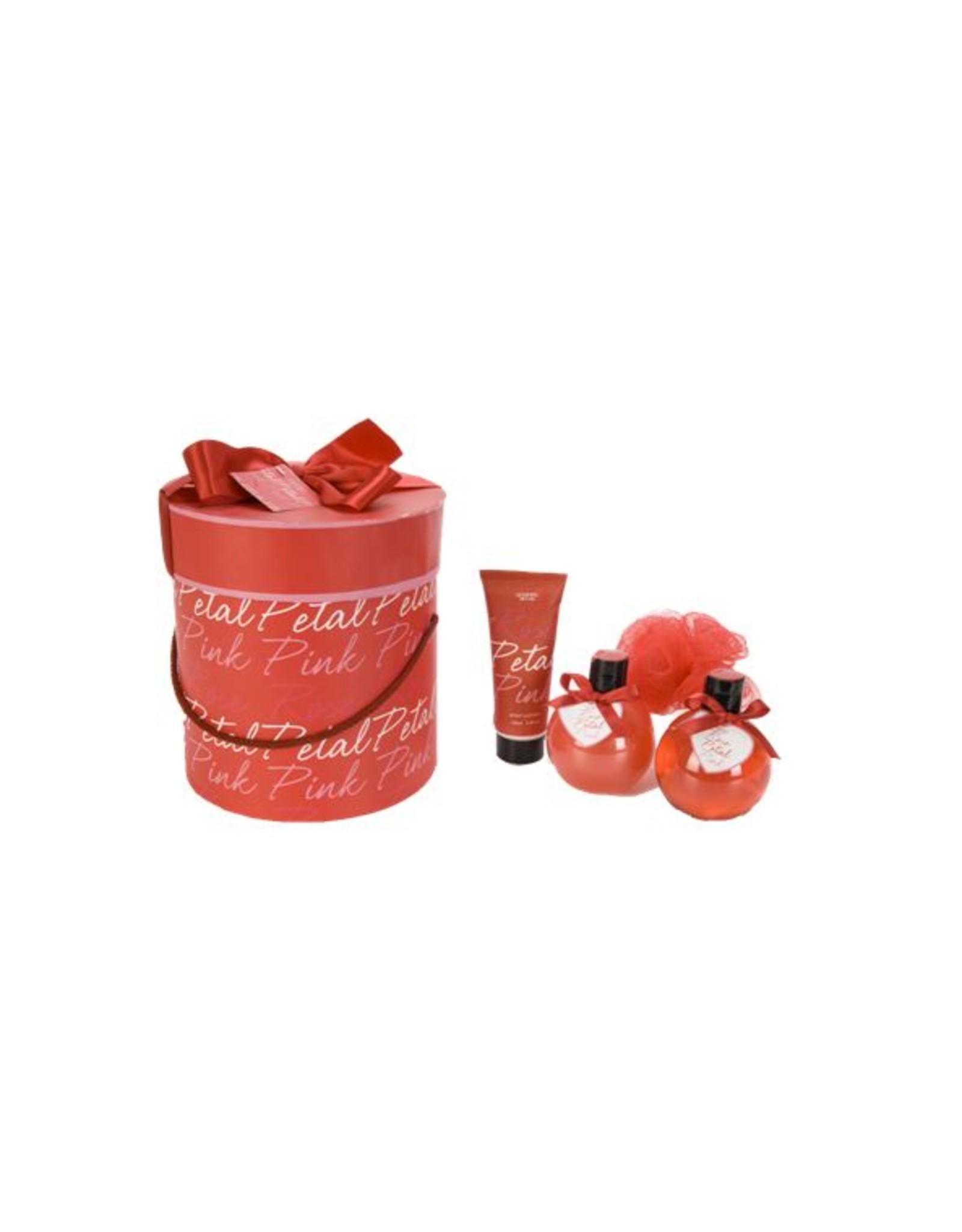 Giftset 'Rose Petal' - Body & Soap
