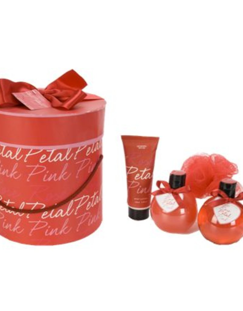 Rose Petal Bath Set - Body & Soap