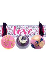 Bomb Cosmetics Love Cracker Bath Blasters - Cadeautip