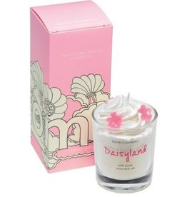 Bomb Cosmetics Geurkaars 'Daisyland Piped Candle'