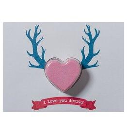 I Love You Deerly Blastercard