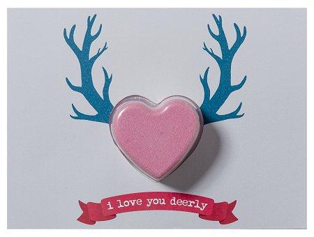 I Love You Deerly Blastercard - Valentijn