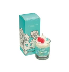 Bomb Cosmetics Geurkaars 'Jade Princess Whipped Piped Candle'