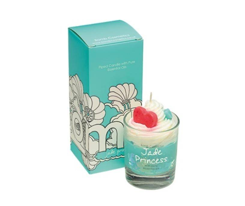 Bomb Cosmetics Jade Princess Whipped Piped Candle - geurkaars