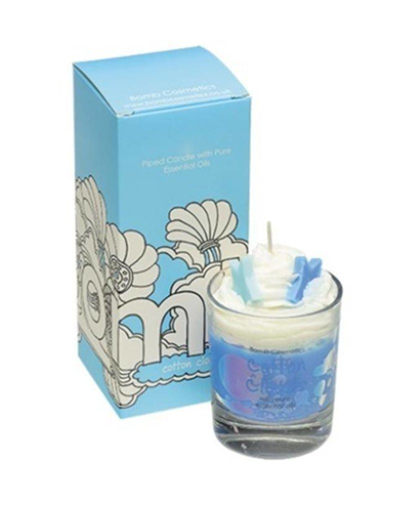 Bomb Cosmetics Geurkaars 'Cotton Clouds Whipped Piped Candle' -Body & Soap