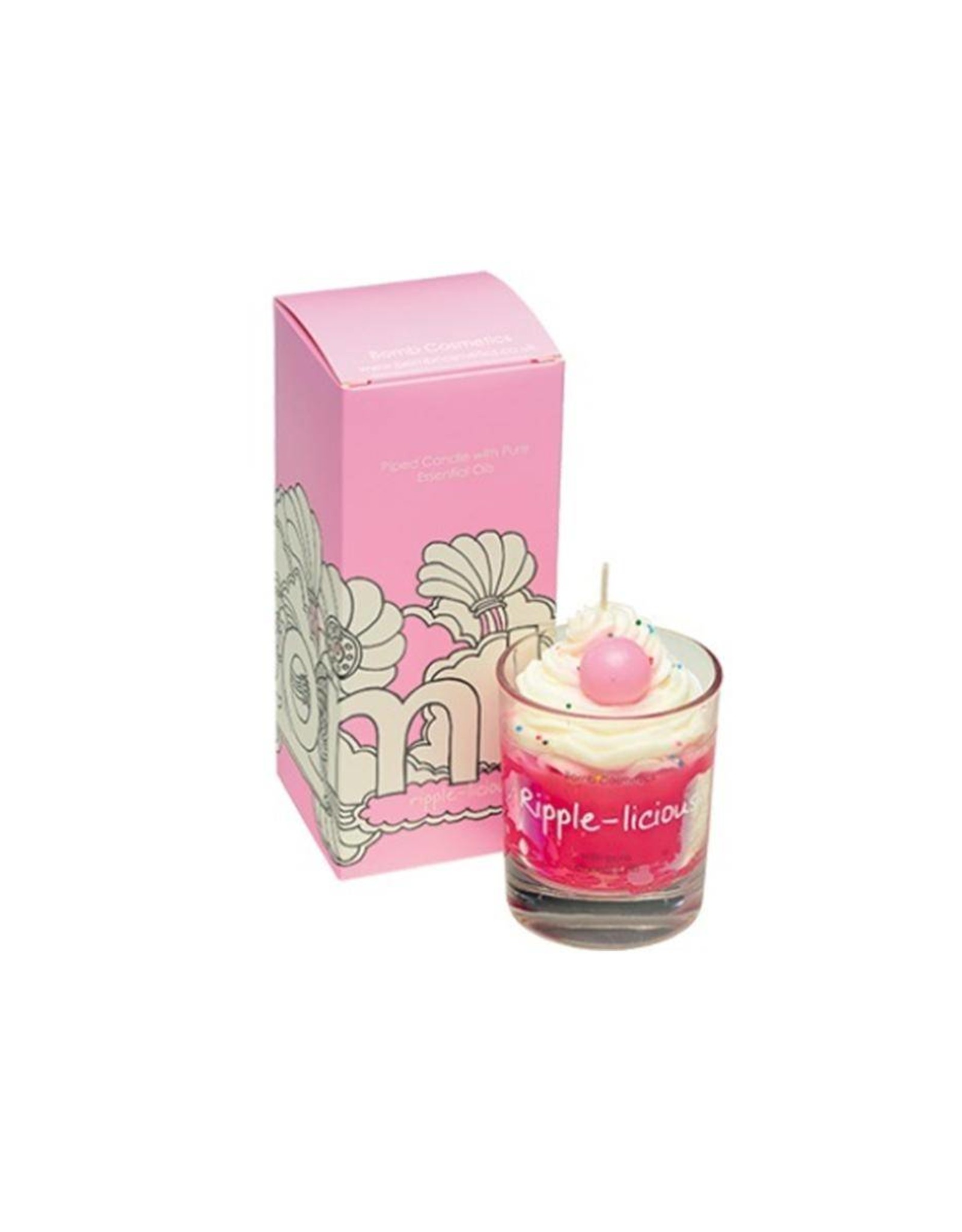 Bomb Cosmetics Geurkaars 'Ripple Licious Whipped Piped Candle' - Body & Soap