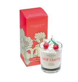 Bomb Cosmetics Geurkaars 'Wild Cherry Whipped Piped Candle'