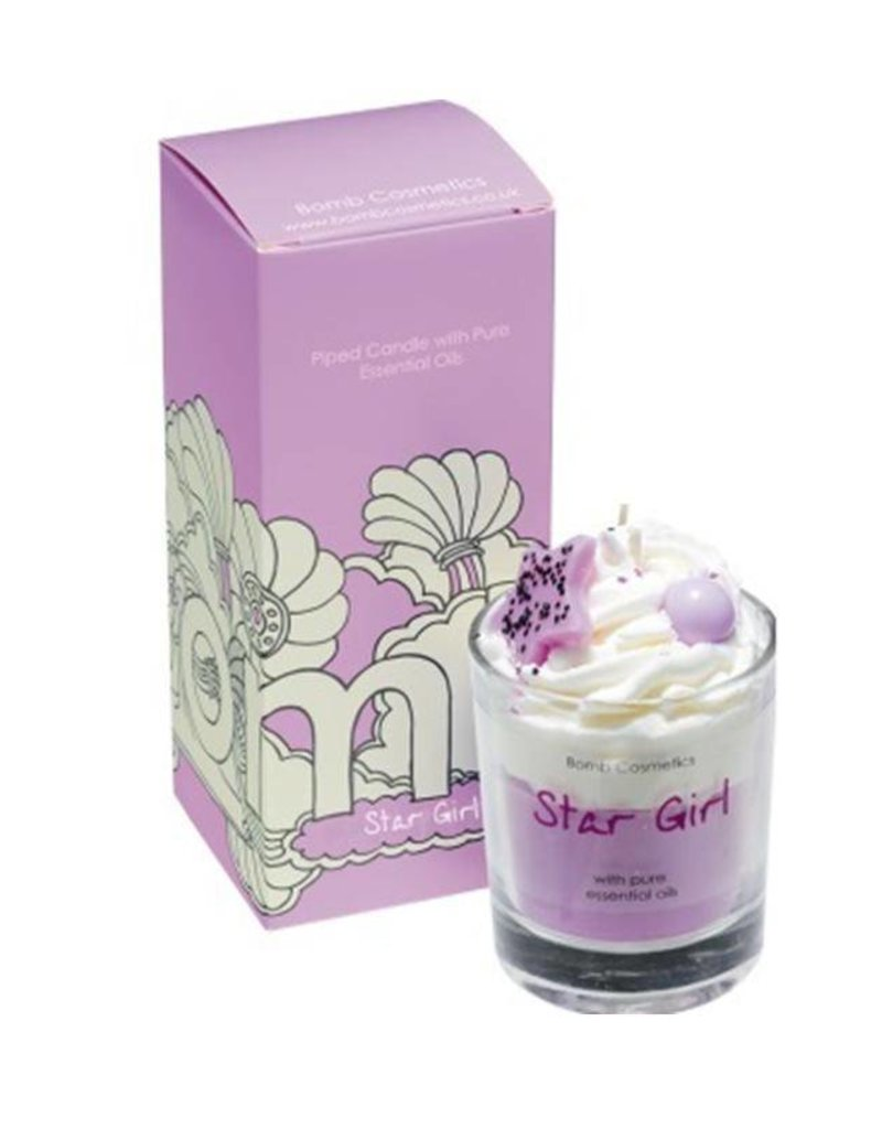 Bomb Cosmetics Geurkaars 'Star Girl Whipped Piped Candle' - Body & Soap