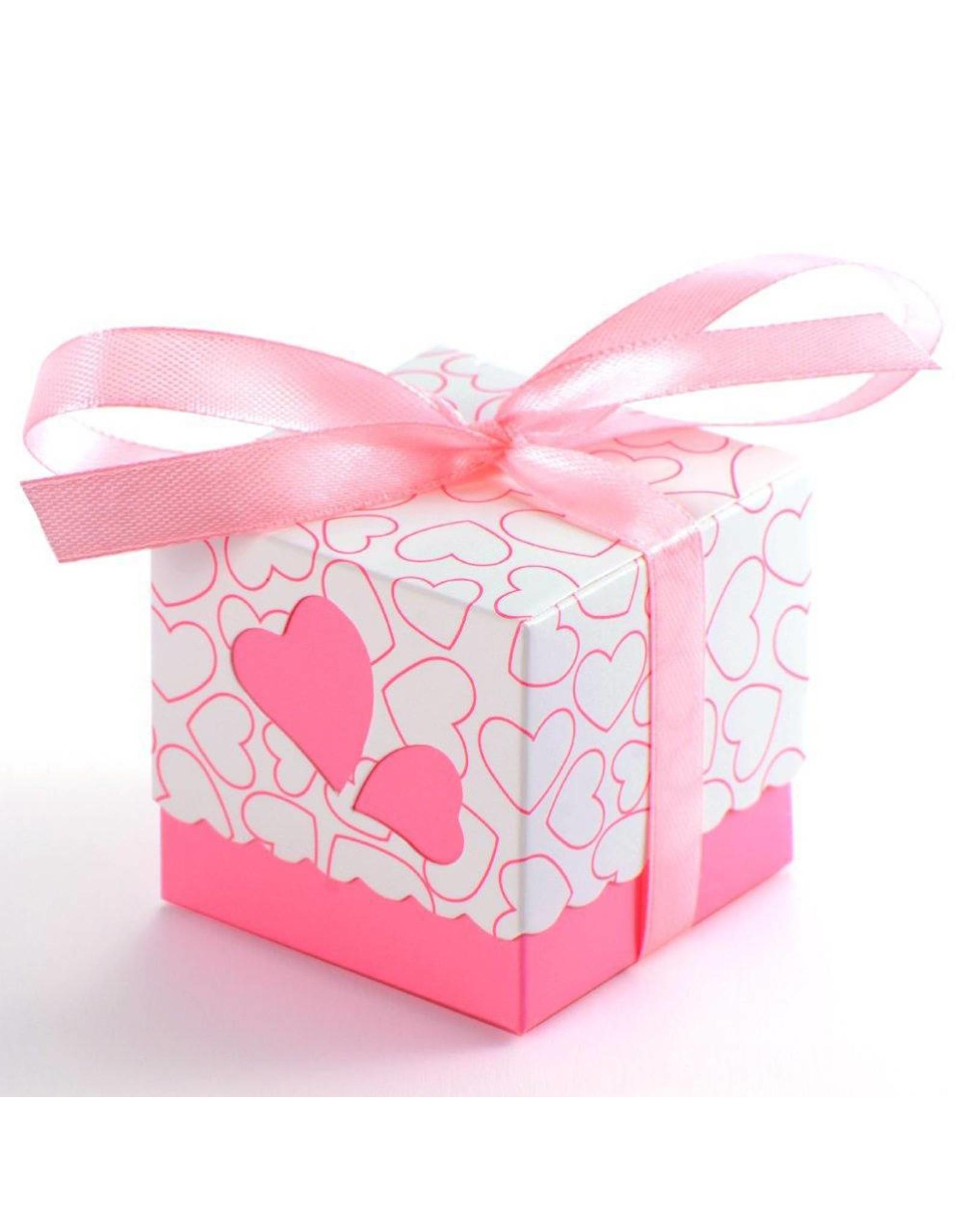 Doosjes voor bedankjes roze 25 stuks - Body & Soap
