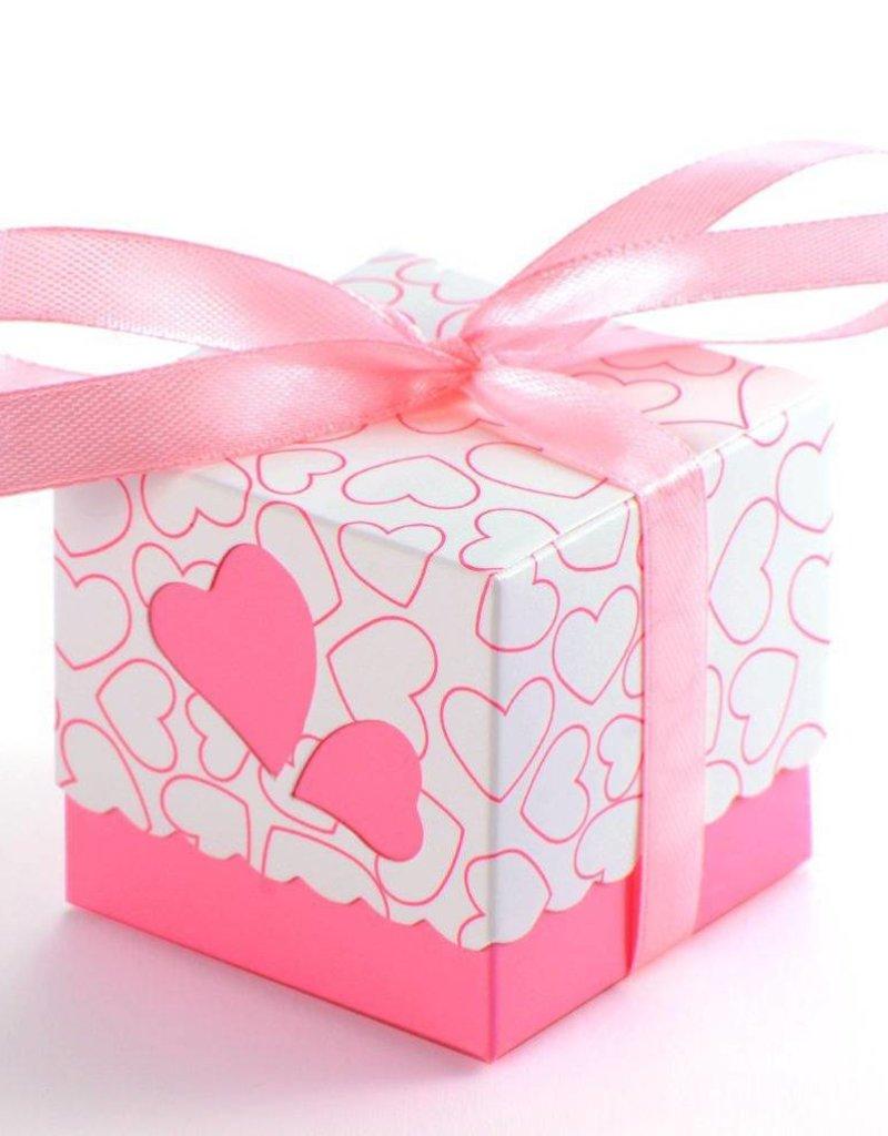 25 doosjes voor bedankjes roze - Body & Soap