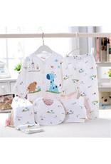 Babykleding 5-delig blauw - Body & Soap