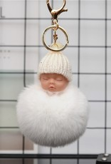 Sleutelhanger Baby PomPom - Body & Soap