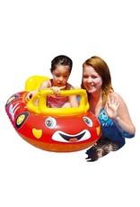 Race auto opblaasbaar baby - Body & Soap