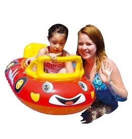 Race auto opblaasbaar baby
