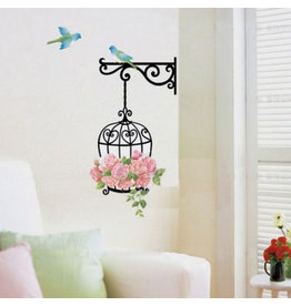 Muursticker Home Birdy