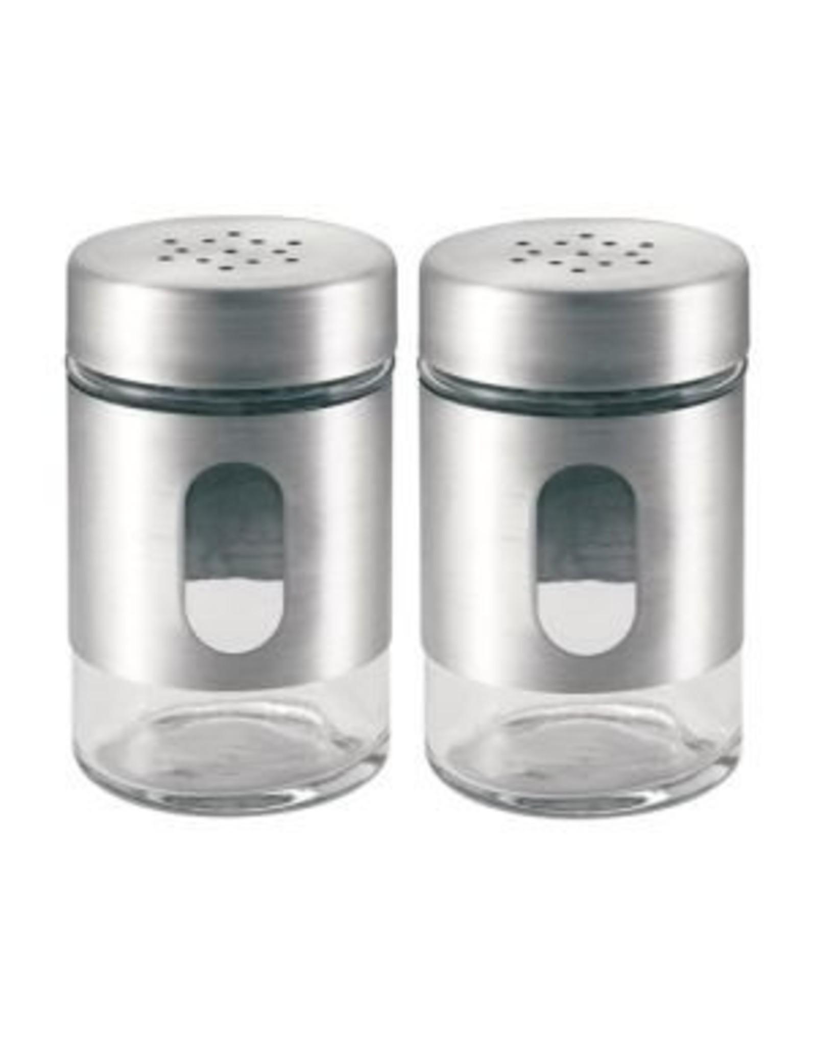 Peper- en zoutstel (RVS) - Body & Soap