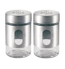 Peper- en zoutstel (RVS)