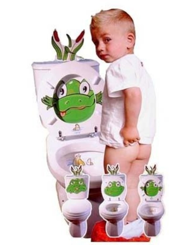 Stinky WC/toilet bril stickers - Body & Soap