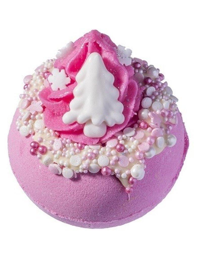 Bomb Cosmetics Pink Christmas Bath Blaster