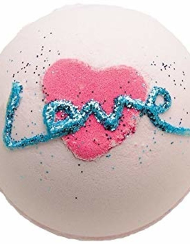 Bomb Cosmetics All You Need is Love Bath Blaster