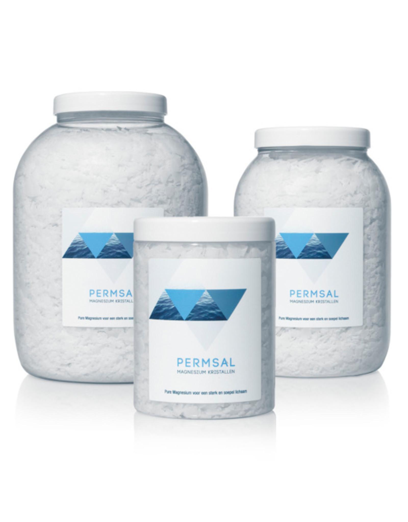 Permsal Magnesium kristallen/vlokken 2 kilo - Body & Soap