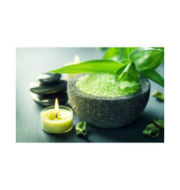 Body & Soap Grof badzout 1000 gram (Groen)