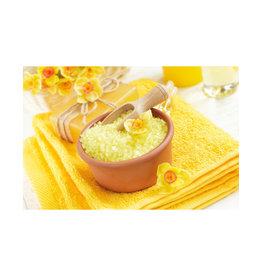 Body & Soap Grof badzout 1000 gram (Geel)