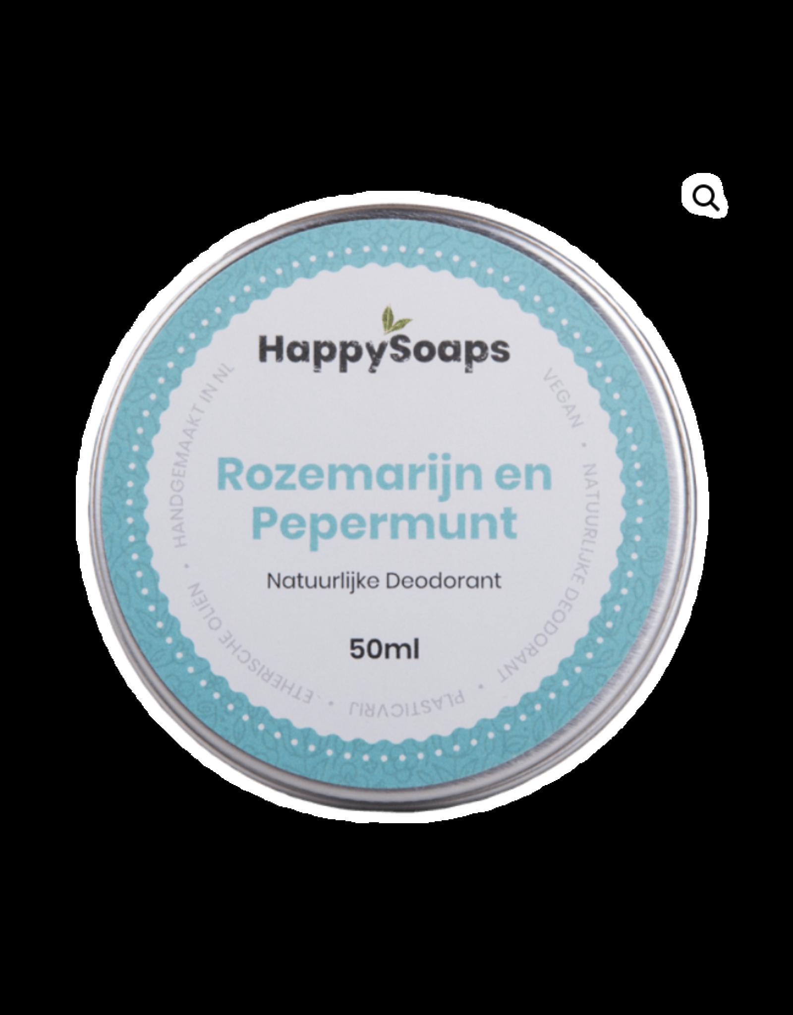 Natuurlijke Deodorant Rozemarijn en Pepermunt - Body & Soap