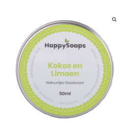 Natuurlijke Deodorant Kokos en Limoen