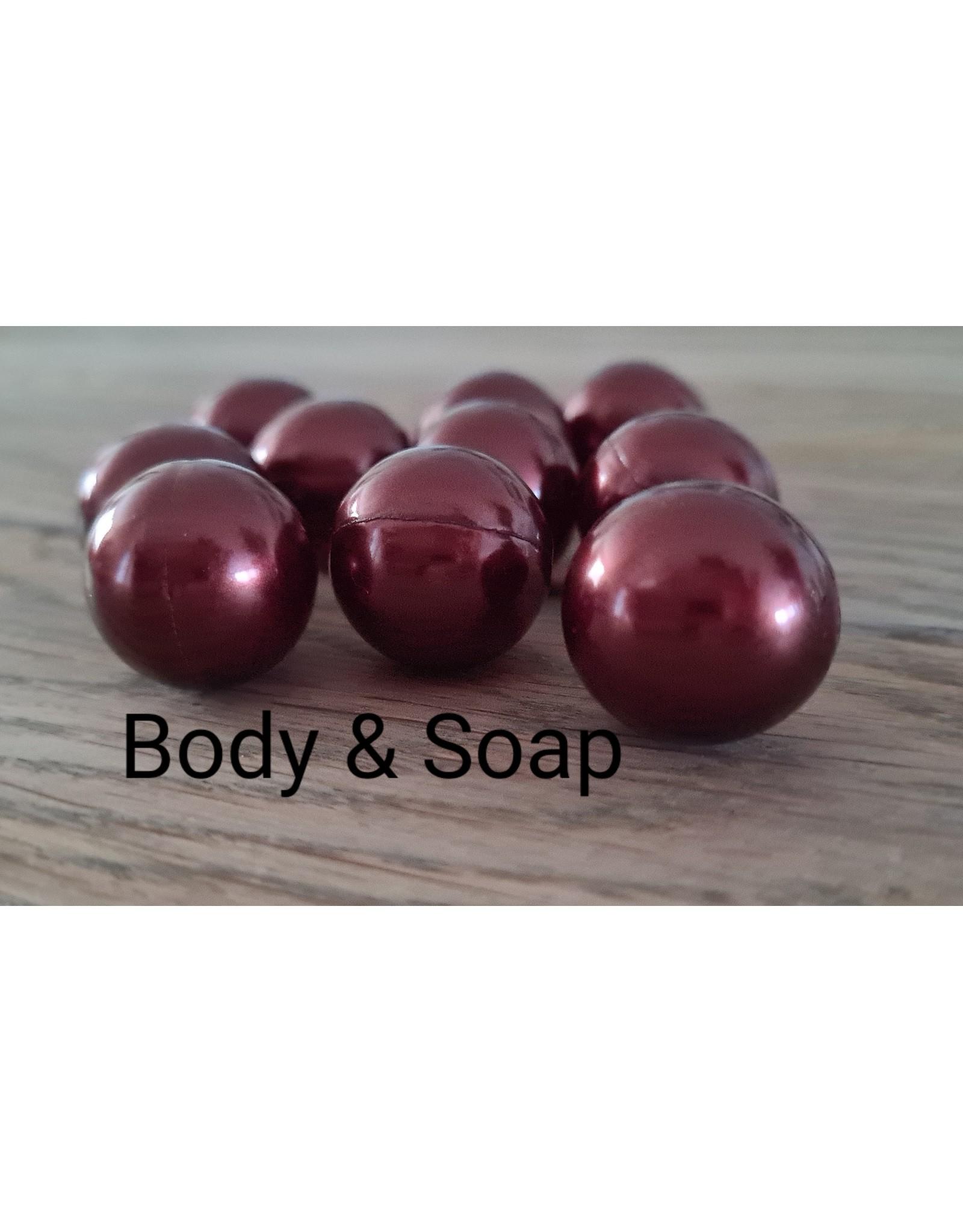 Badparel (donkerbruin) metallic - Body & Soap