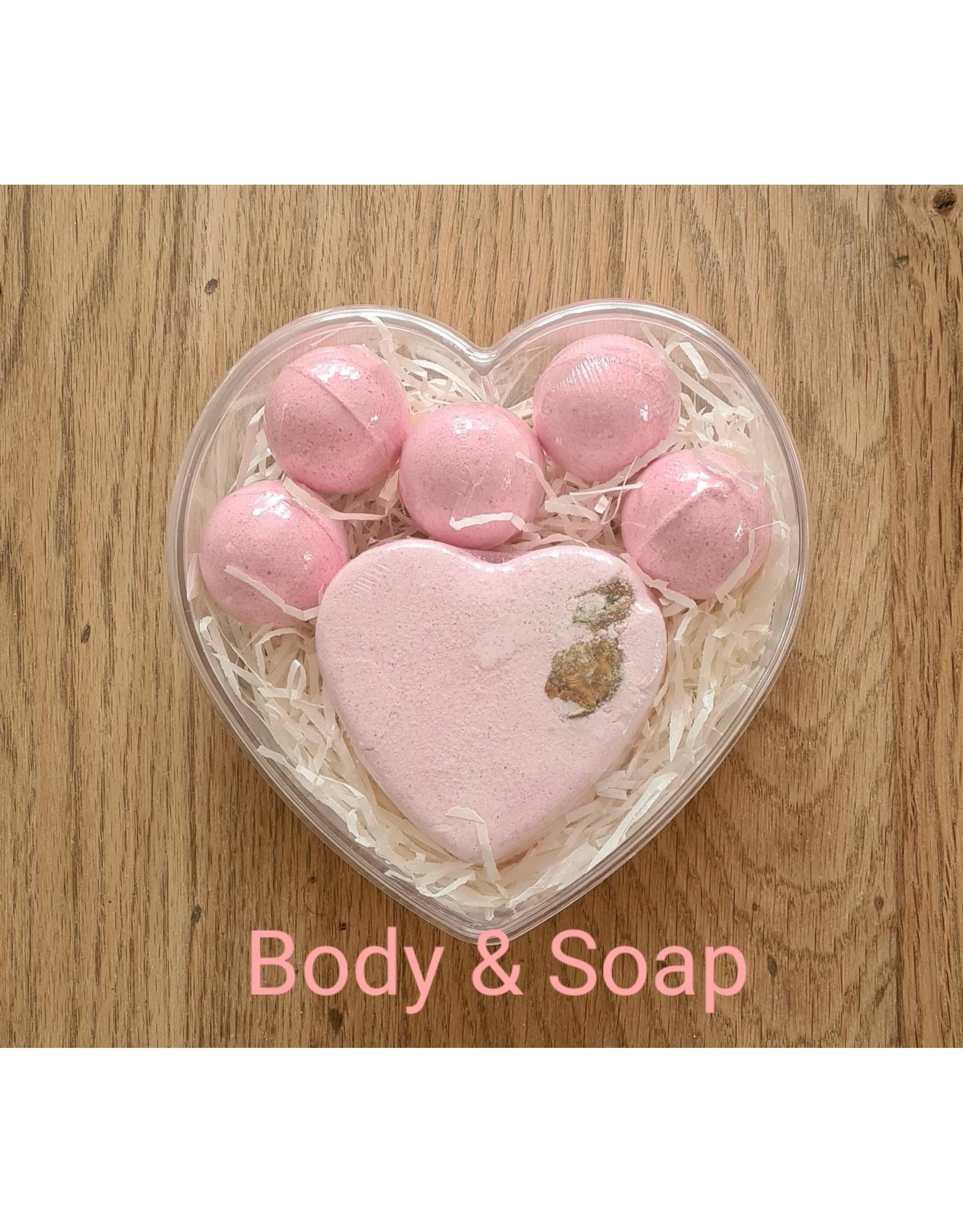 Body & Soap Een bruisend hart❤  - Body & Soap