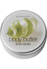 GreenLand Body Butter Lime Vanilla 100ml - Body & Soap