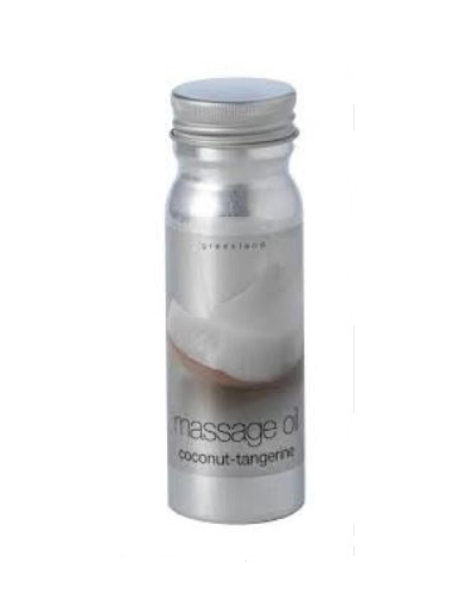 GreenLand Massage Oil Coconut Tangerine 120ml - Body & Soap