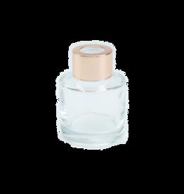 Body & Soap Geurpotje transparant/roze dop