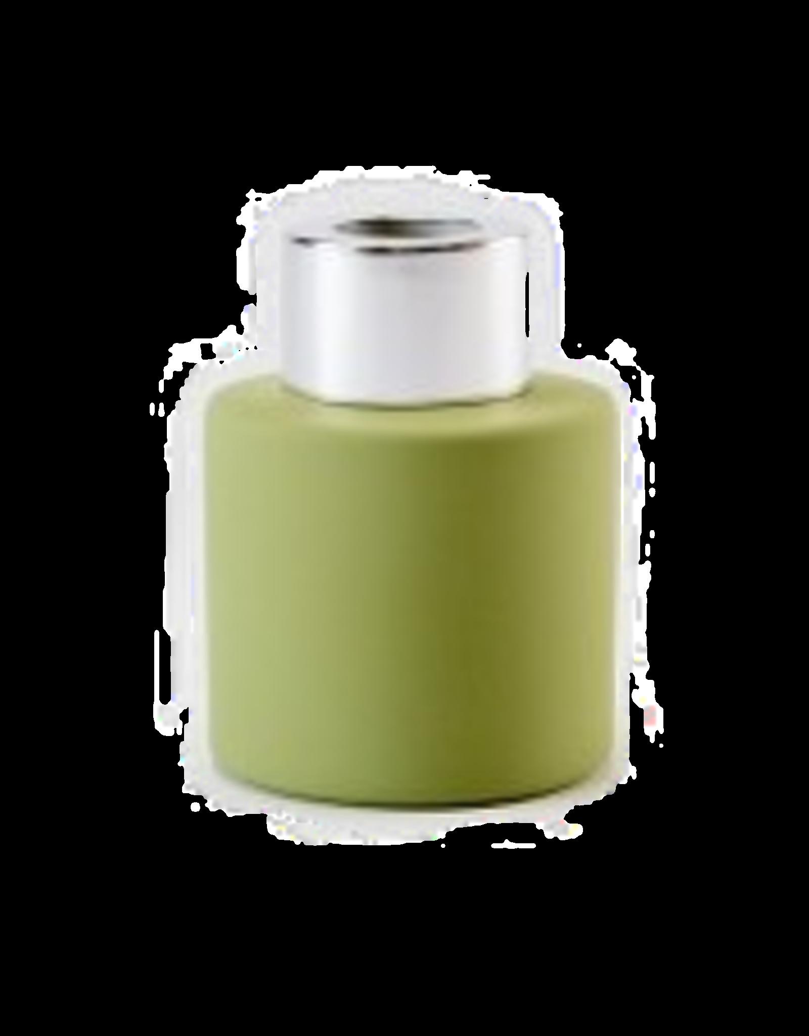 Body & Soap Geurpotje zijdegroen/zilveren dop - Body & Soap