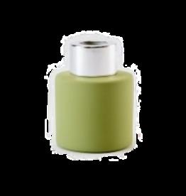 Body & Soap Geurpotje zijdegroen/zilveren dop