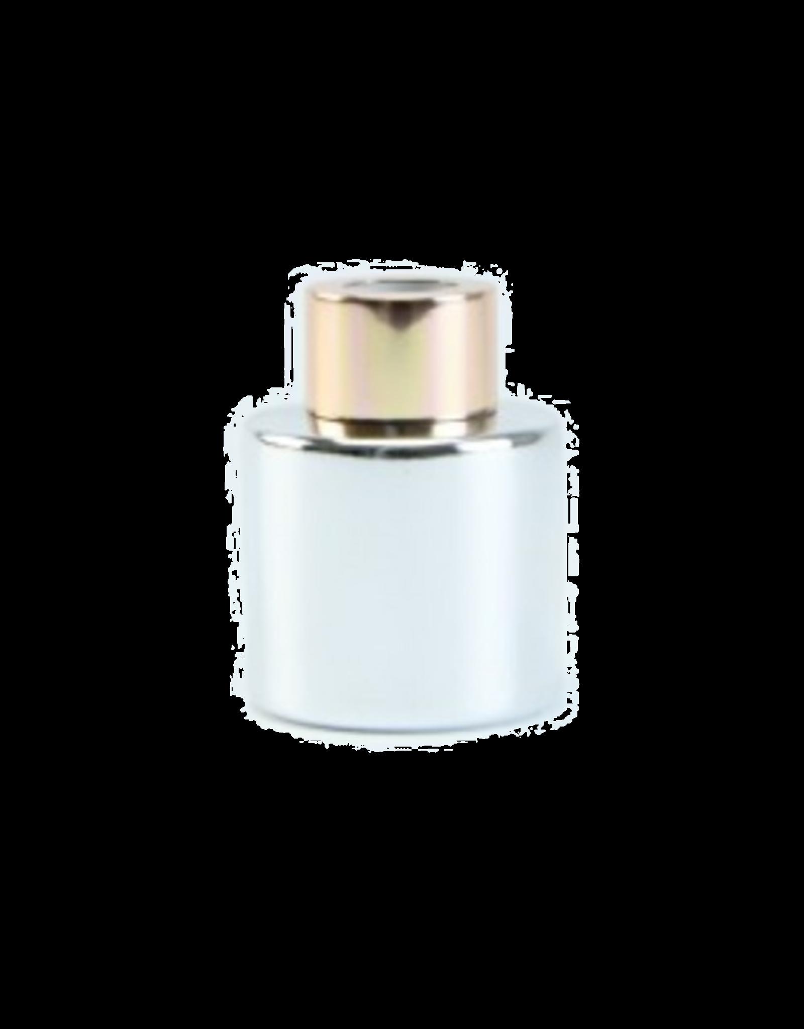 Body & Soap Geurpotje zilver/roze dop  - Body & Soap