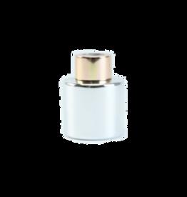 Body & Soap Geurpotje zilver/roze dop