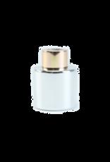 Body & Soap Geurpotje zilver/zilveren dop  - Body & Soap