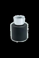 Body & Soap Geurpotje zwart/zilveren dop  - Body & Soap