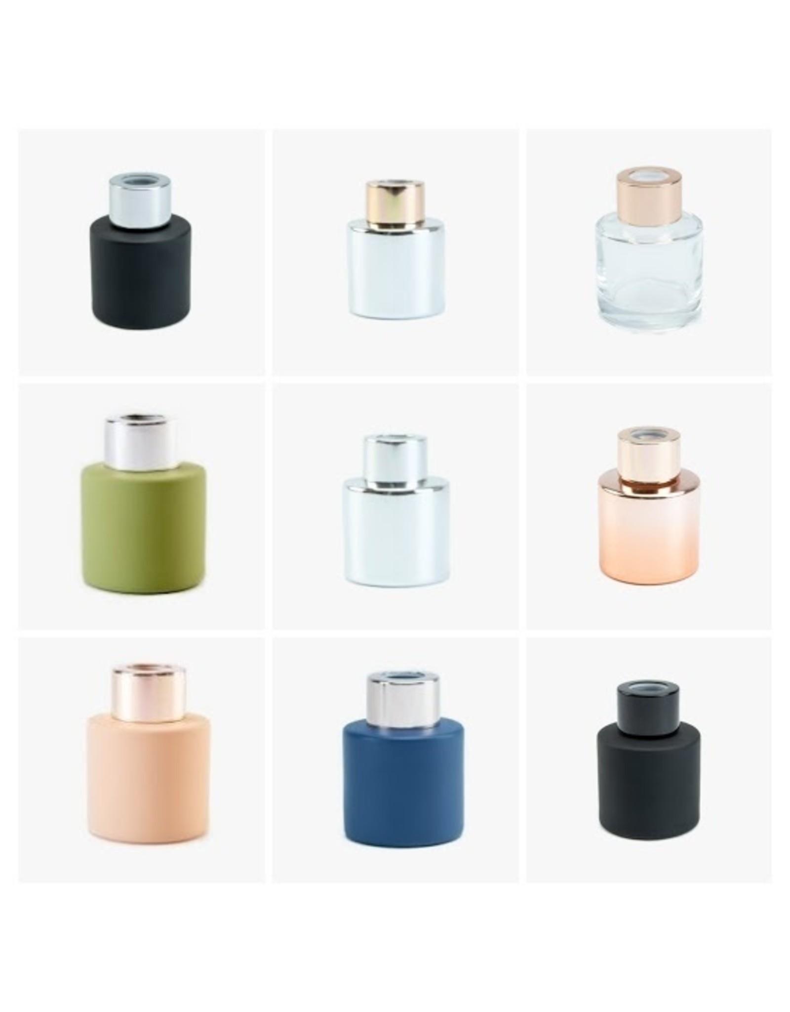 Body & Soap Geurpotje transparant/roze dop - Body & Soap