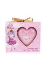 LITTLE PRINCESS fizzer/bruishart 110g in gift box - Body & Soap