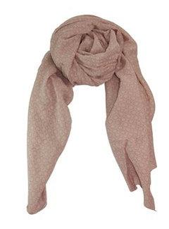 Black Colour KARLA scarf-rose