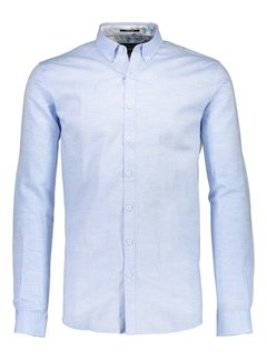 Lindbergh Cotton linen shirt L/S