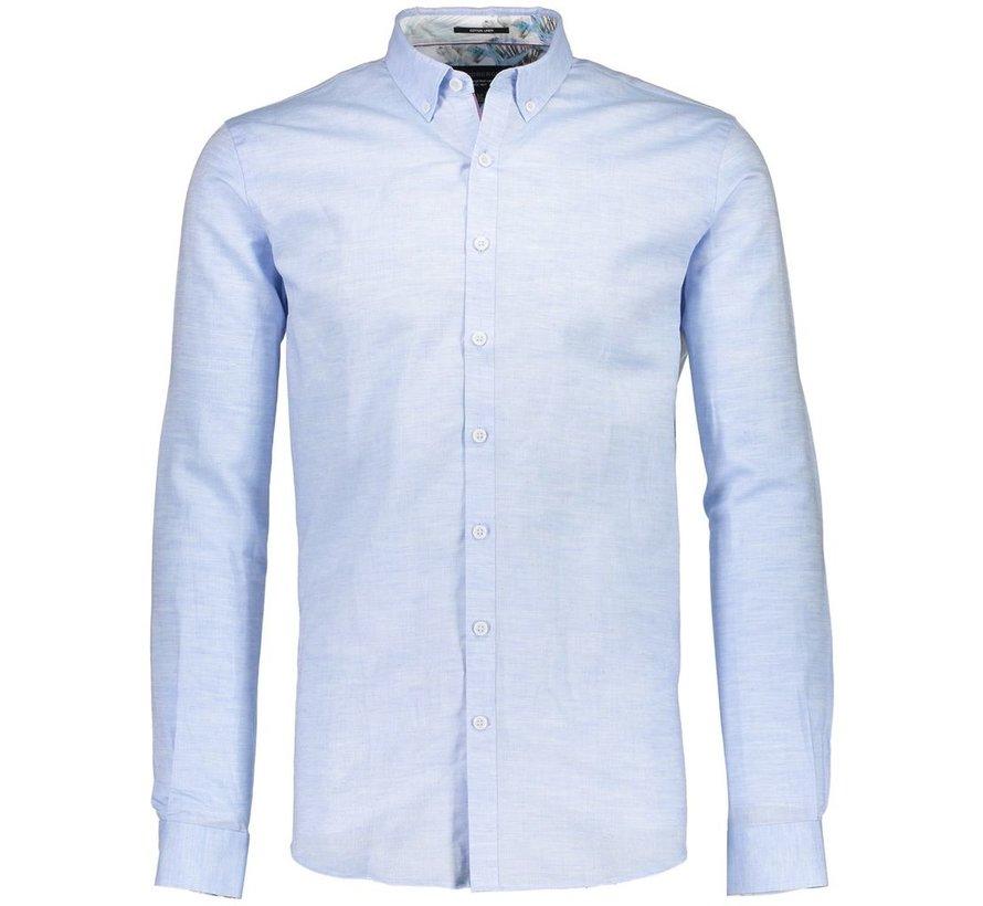 Cotton linen shirt L/S