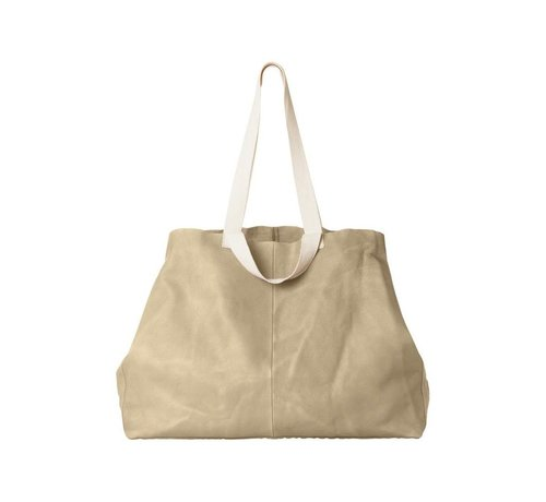 YAYA BIG LEATHER SHOPPER